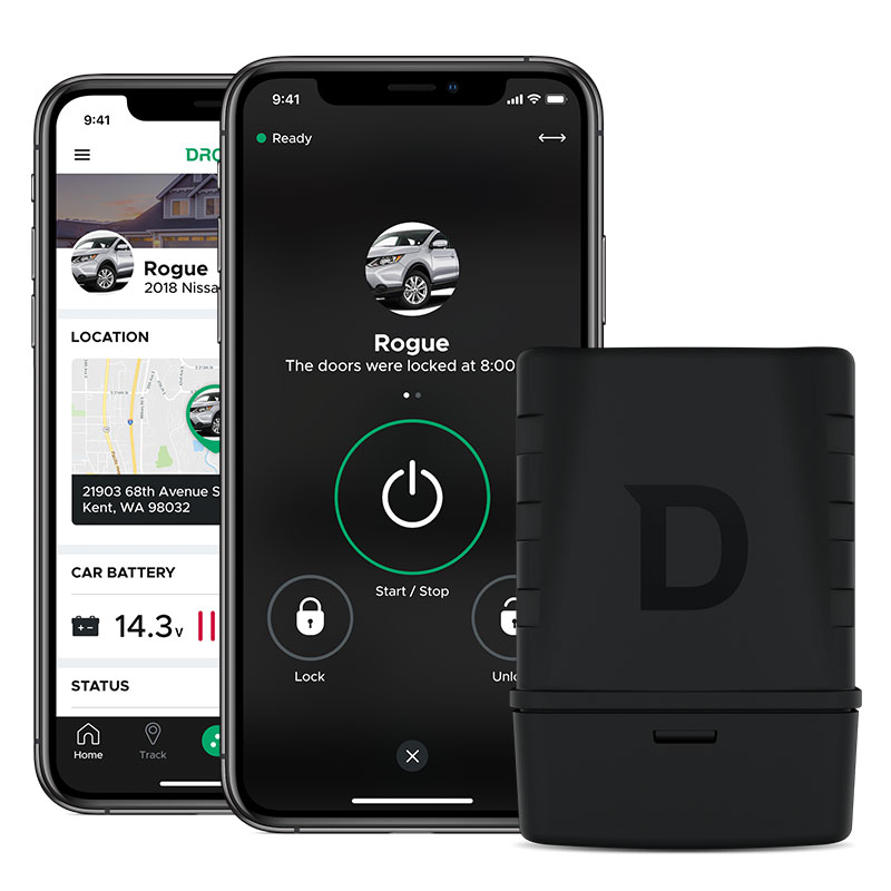 DR-5400<br>Adds DroneMobile smartphone control to any Compustart remote start or security system. Unlimited range, GPS tracking. The 30-day basic trial included; service plans starting at $5.99/month.