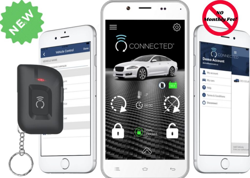 CONNECTED RFK 5000  <br>  Smartphone bluetooth control, 1.5-mile range, included 1 rechargeable LED 2-way remote.